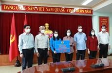 Hỗ trợ nhân viên y tế, người lao động ở Đồng Nai, Nam Định, Quảng Bình