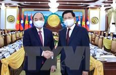 Thúc đẩy quan hệ hợp tác Việt Nam-Lào trên tất cả các lĩnh vực