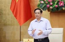 [Photo] Thủ tướng Phạm Minh Chính chủ trì phiên họp Chính phủ tháng 7