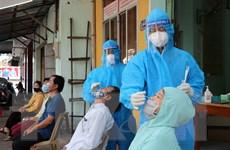 [Photo] Phú Yên tăng tốc xét nghiệm SARS-CoV-2 ở điểm nóng Tuy Hòa