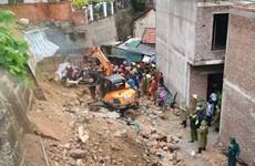 Quảng Ninh: Mưa lớn gây sạt lở đất khiến 3 thợ xây tử vong