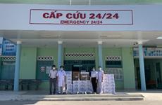 Trao 20 máy thở cho tuyến đầu chống dịch COVID-19 tại 7 tỉnh, thành