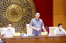 Chủ tịch Quốc hội Vương Đình Huệ: Xây dựng pháp luật từ sớm, từ xa
