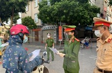 24 giờ qua, Hà Nội xử lý 887 trường hợp vi phạm quy định phòng dịch