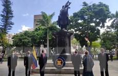 Tổ chức lễ thượng cờ kỷ niệm ngày thành lập ASEAN tại Venezuela