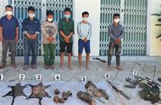 Thừa Thiên-Huế: Bắt giữ 6 đối tượng săn bắn thú trái phép