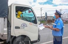 Từ 23/8, phương tiện vận tải hàng hóa vào Cần Thơ phải đăng ký trước