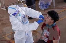 Số ca lây nhiễm SARS-CoV-2 trong cộng đồng tại Lào tăng mạnh