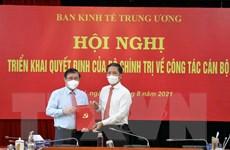 Ông Nguyễn Thành Phong giữ chức Phó trưởng Ban Kinh tế TW