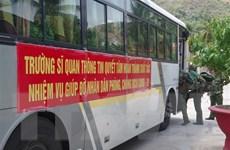 Lực lượng vũ trang Khánh Hòa, Long An xung kích tuyến đầu chống dịch