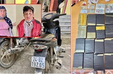 Lào Cai: Bắt giữ 2 đối tượng mua bán, vận chuyển 20 bánh ma túy
