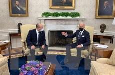 Tổng thống Mỹ Joe Biden hội đàm với Thủ tướng Israel tại Nhà Trắng