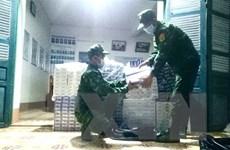 An Giang: Thu giữ gần 3.900 bao thuốc lá điếu ngoại nhập lậu