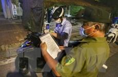 Hà Nội phát hiện, xử phạt 759 trường hợp vi phạm quy định phòng dịch