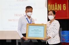 TP.HCM tiếp nhận vật tư y tế và nhu yếu phẩm hỗ trợ 312 xã, phường