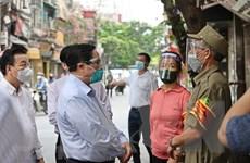 Thủ tướng: Hà Nội tăng cường giãn cách xã hội với biện pháp mạnh hơn