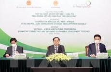 Tăng cường kết nối, hợp tác nông nghiệp Việt Nam-châu Phi
