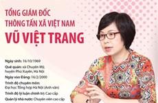 [Infographics] Tổng Giám đốc Thông tấn xã Việt Nam Vũ Việt Trang