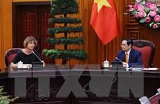 Thủ tướng Phạm Minh Chính tiếp Đại sứ Hà Lan Elsbeth Akkerman
