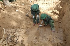 Quảng Trị: San đất làm nhà, phát hiện 4 bộ hài cốt liệt sỹ ở Vĩnh Linh
