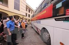 Cán bộ y tế Yên Bái lên đường hỗ trợ Thành phố Hồ Chí Minh chống dịch