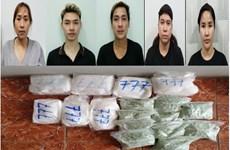 Truy tố nhóm đối tượng vận chuyển 34kg ma túy từ Campuchia về TP.HCM