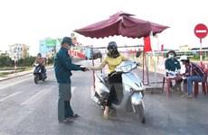Số ca mắc mới giảm, Quảng Bình chuyển trạng thái giãn cách xã hội