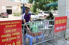 Hà Nội: Phong tỏa 3 cụm tòa nhà tại Đền Lừ vì liên quan đến 16 ca F0