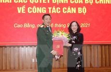 Ông Trần Hồng Minh được điều động làm Bí thư Tỉnh ủy Cao Bằng