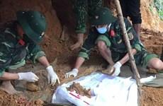 Thừa Thiên-Huế: Phát hiện và quy tập hài cốt liệt sỹ ở huyện A Lưới