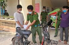 Bắt giữ đối tượng thực hiện gần chục vụ trộm cắp tại Vĩnh Phúc