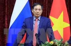 Bộ trưởng Bùi Thanh Sơn hội kiến Phó Thủ tướng Nga Dmitry Chernyshenko