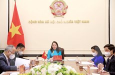 Phó Chủ tịch nước Võ Thị Ánh Xuân điện đàm với Phó Tổng thống Nigeria