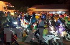 Ninh Bình đón hơn 600 công dân trở về từ một số tỉnh phía Nam