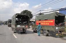 Bộ Tư lệnh Thành phố Hồ Chí Minh phối hợp đưa người dân về quê an toàn