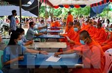 Ngày thứ 7 liên tiếp số ca mắc mới COVID-19 ở Campuchia giảm mạnh