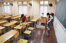 Thêm hai huyện của tỉnh Bình Thuận cho học sinh tiểu học đến trường