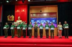 Tăng cường 391 cán bộ, chiến sỹ công an về các xã biên giới trọng điểm