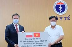Tiếp nhận gần 2 triệu liều AstraZeneca do Ba Lan và Hàn Quốc tài trợ