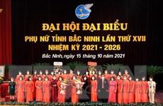 Bà Nguyễn Phương Mai tái cử Chủ tịch Hội Liên hiệp Phụ nữ Bắc Ninh