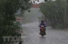 Khu vực từ Hà Tĩnh đến Khánh Hòa và Bắc Tây Nguyên có mưa to