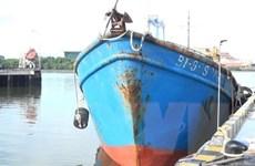 Vùng Cảnh sát biển 3 bắt giữ tàu chở 60.000 lít dầu không rõ nguồn gốc