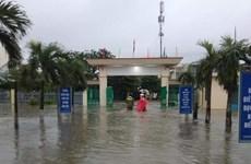 Mưa lớn gây ngập lụt tại nhiều nơi ở Quảng Nam, Thừa Thiên-Huế