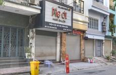 Hà Nội: Phong tỏa cửa hàng cắt tóc Mẹ Ớt ở 36A Trần Quang Diệu