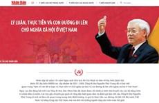 Báo Nhân Dân ra mắt trang thông tin về bài viết của Tổng Bí thư