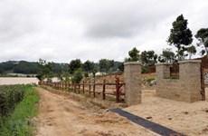 Lâm Đồng xác định có tới 78% số cột mốc bảo vệ hồ Pró bị mất