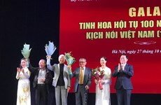 Gala 'Tinh hoa hội tụ 100 năm sân khấu kịch nói Việt Nam'