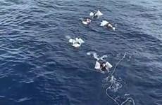 Bình Thuận: Đưa 13 thuyền viên tàu cá bị cháy về đảo Phú Quý an toàn