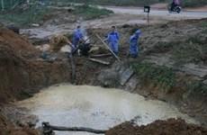 Hà Nội: Lại vỡ ống nước, 70.000 hộ dân bị ảnh hưởng
