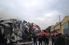 Đã xác định điểm phát cháy trong vụ hỏa hoạn ở Vạn Phúc